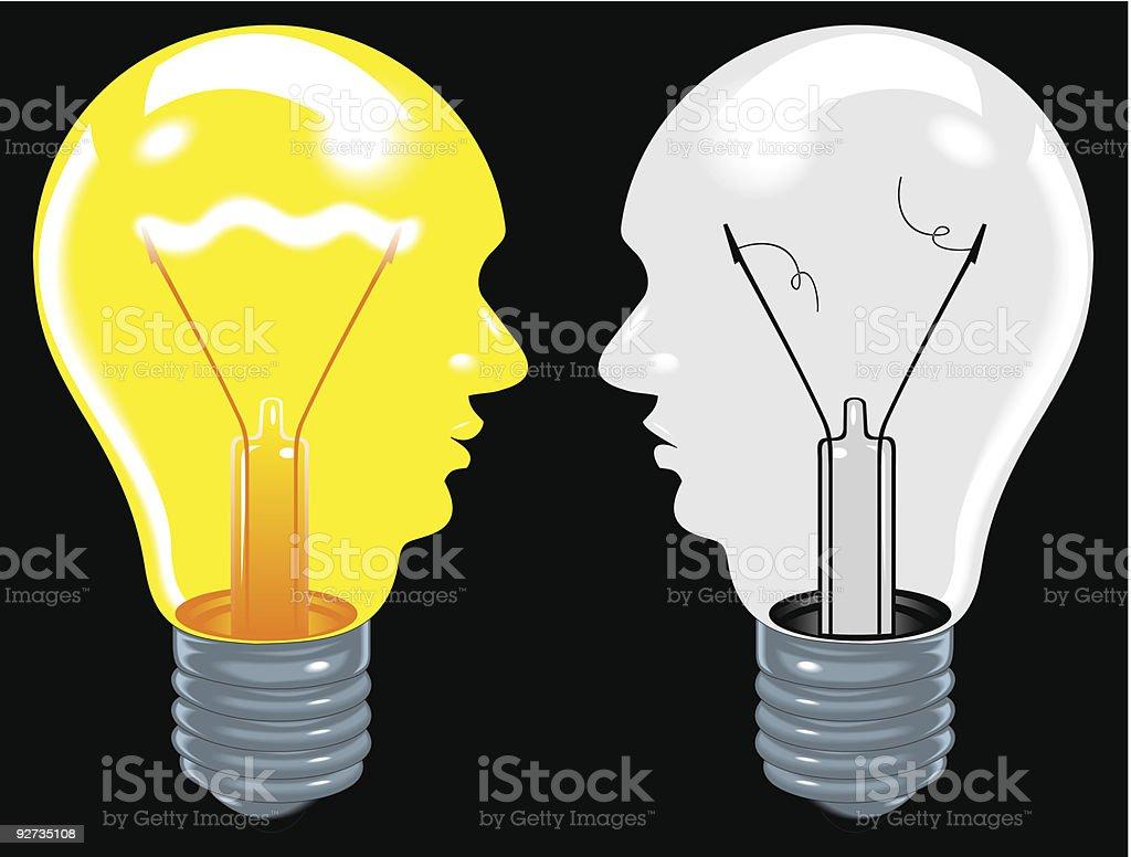 Glühbirne Lizenzfreies glühbirne stock vektor art und mehr bilder von brainstorming