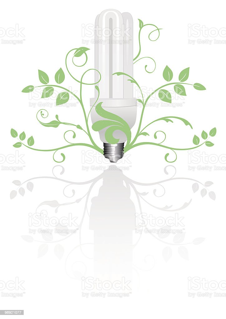 Light bulb royalty-free stock vector art