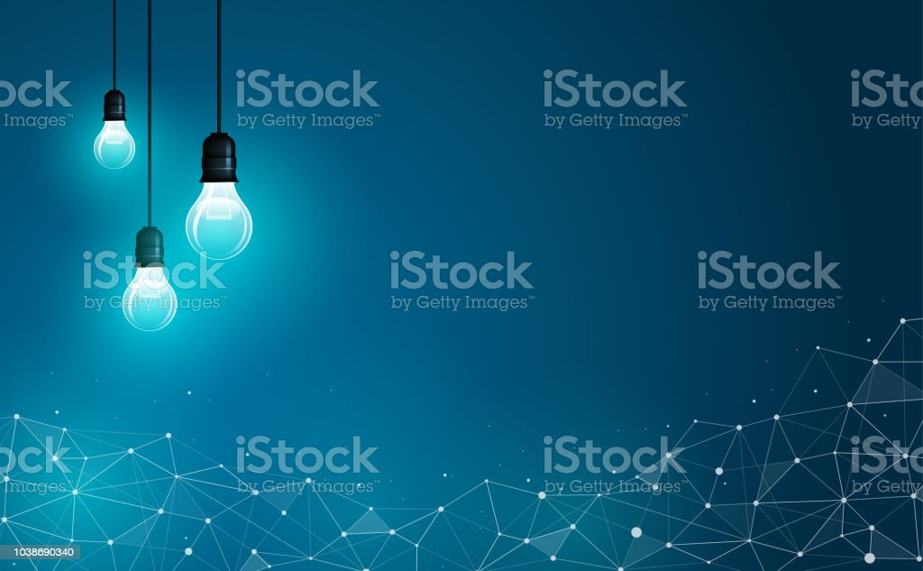 Business, science and technology concept. Fully scalable & Vector...