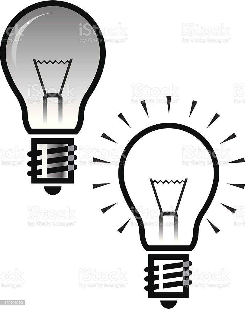 Light bulbs royalty-free light bulbs stock vector art & more images of brainstorming