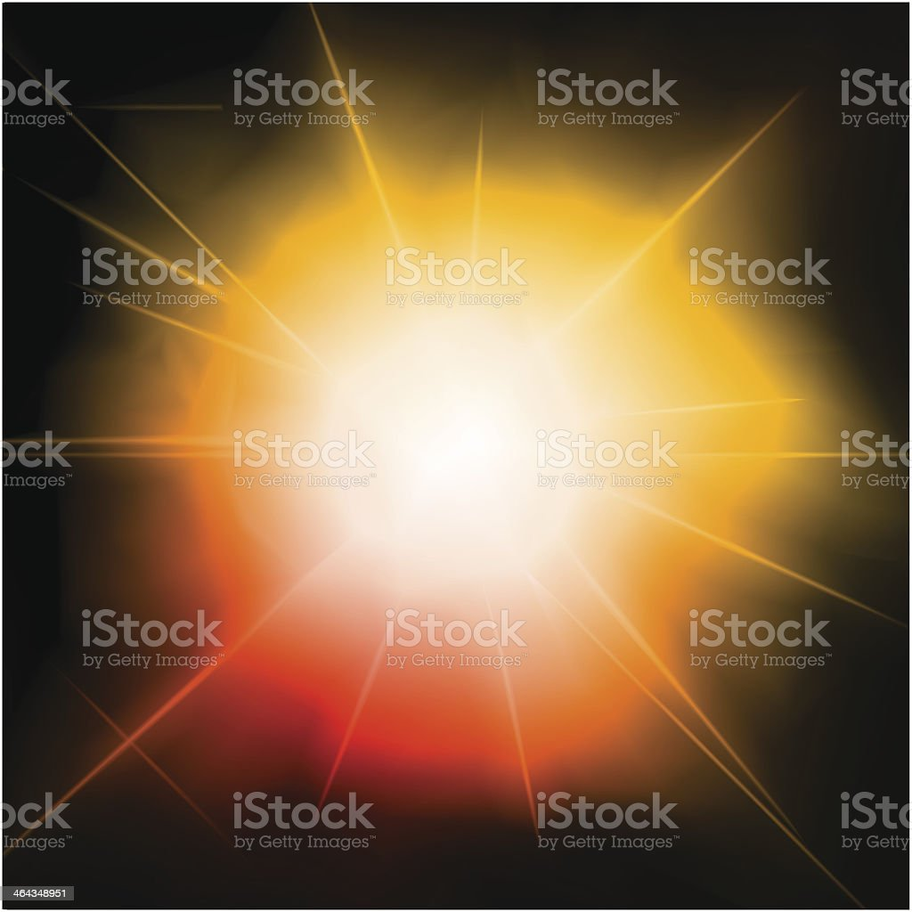 Light burst, fireworks, lens flare. Vector royalty-free light burst fireworks lens flare vector stock vector art & more images of abstract