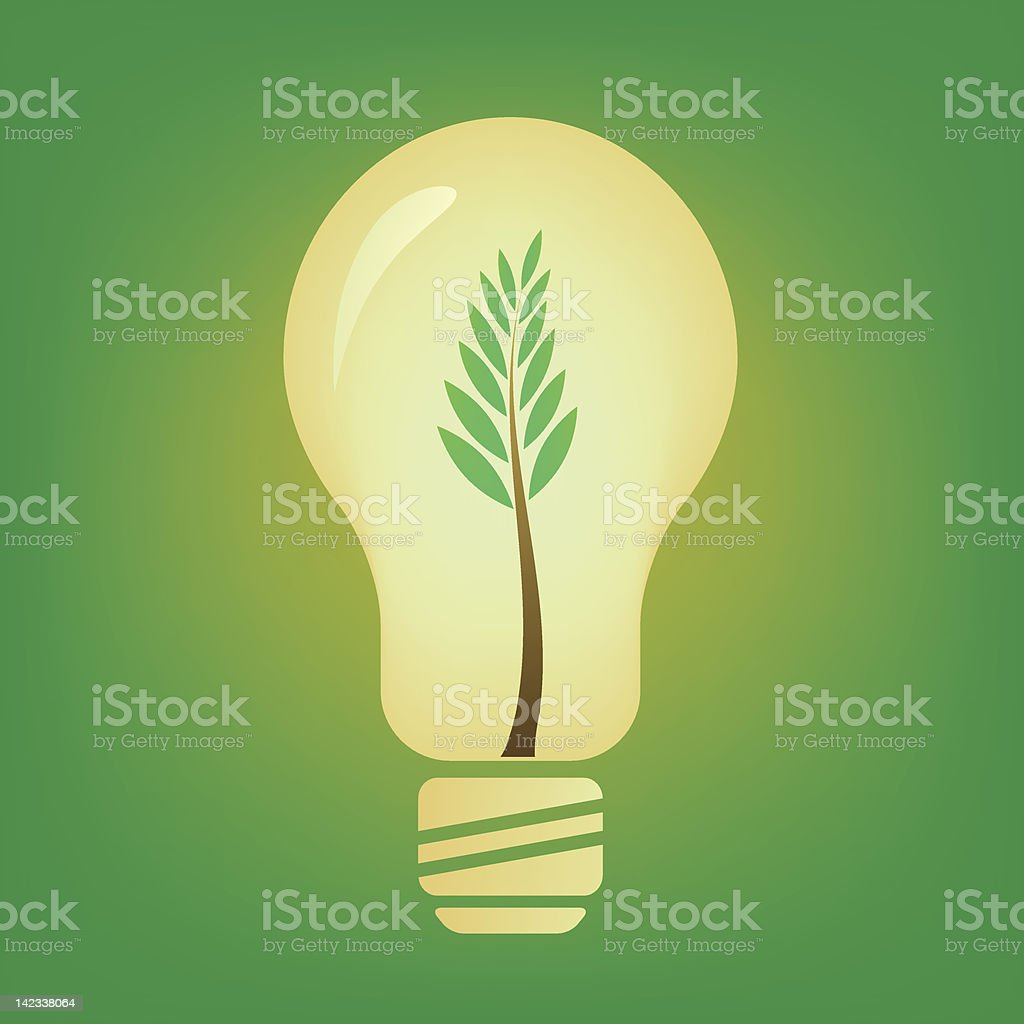 Light by nature royalty-free stock vector art