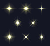 istock light flares set 1185599330