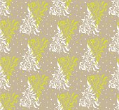 Vector seamless pattern for web, print, wallpaper, home decor, textile, wrapping paper, fabric, invitation background