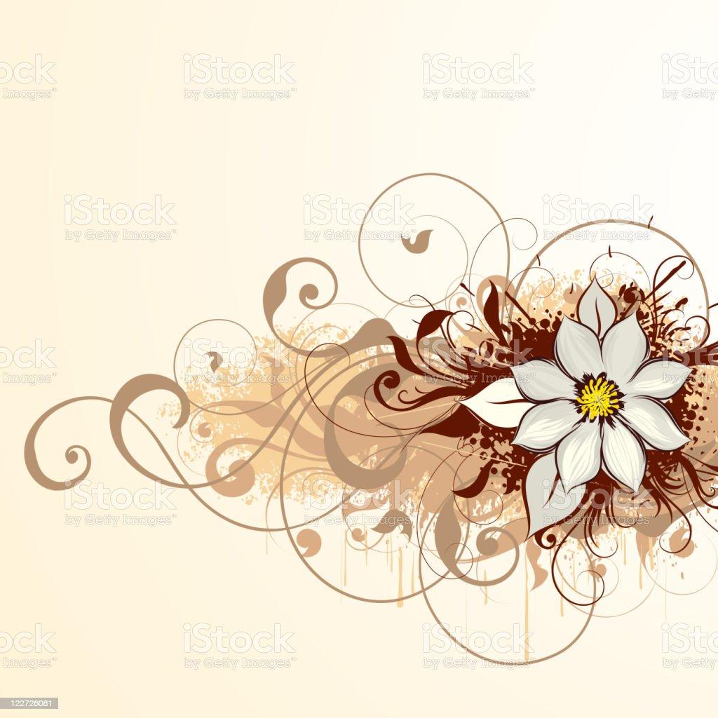 Light flower royalty-free stock vector art
