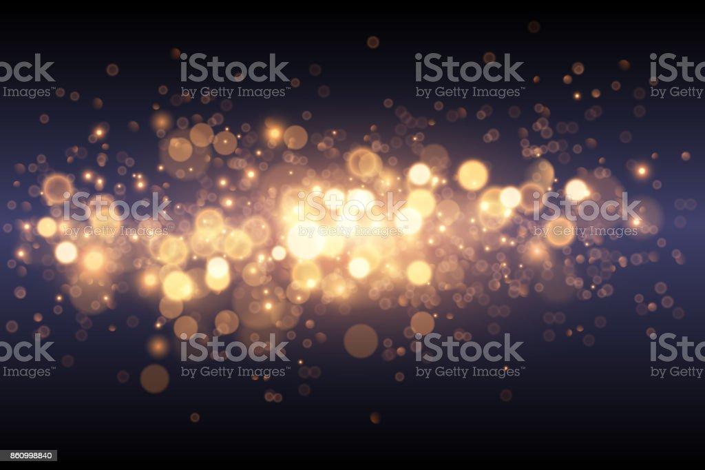 Light gold effect background
