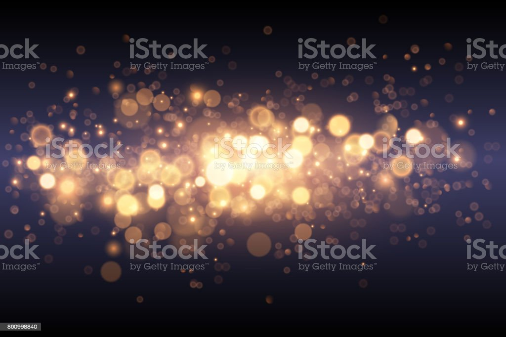 Light gold effect background vector art illustration