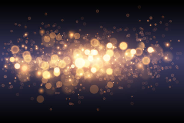 Light gold effect background Light gold effect background in vector sparkler stock illustrations