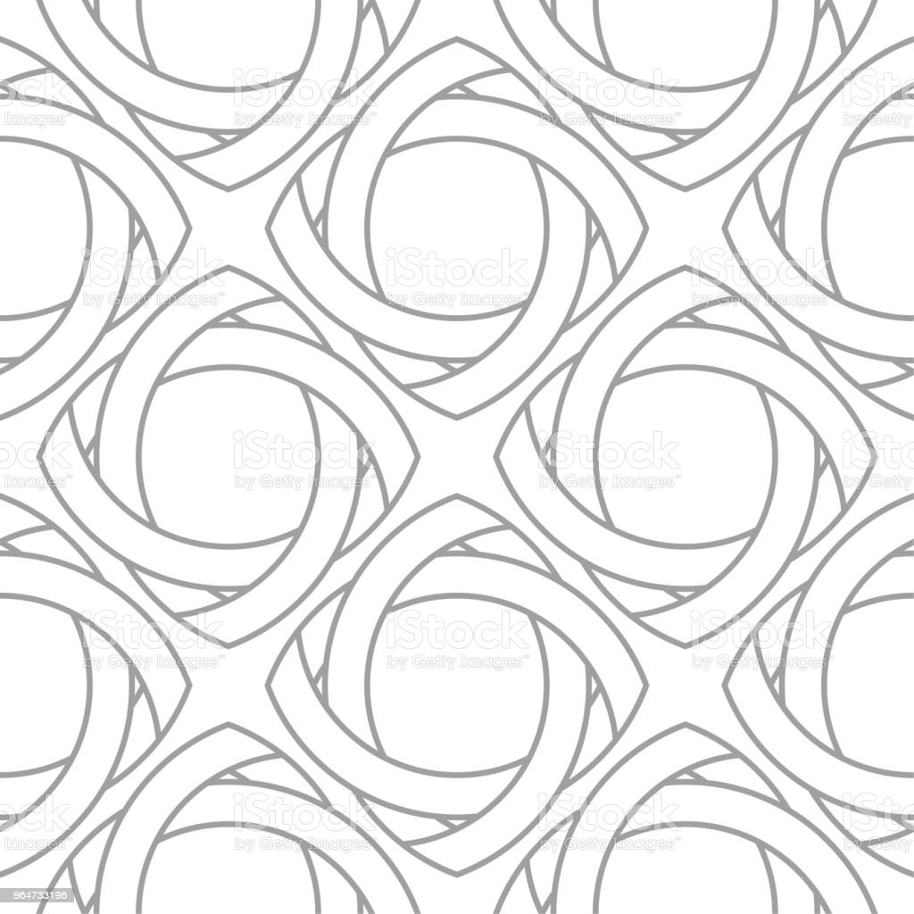Light gray geometric ornament. Seamless pattern royalty-free light gray geometric ornament seamless pattern stock vector art & more images of abstract