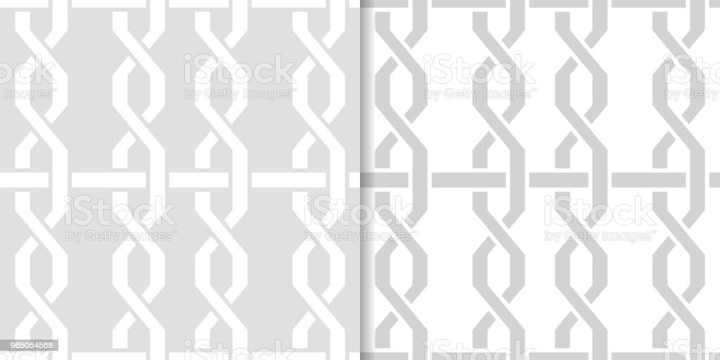 Light gray geometric set of seamless patterns royalty-free light gray geometric set of seamless patterns stock vector art & more images of abstract