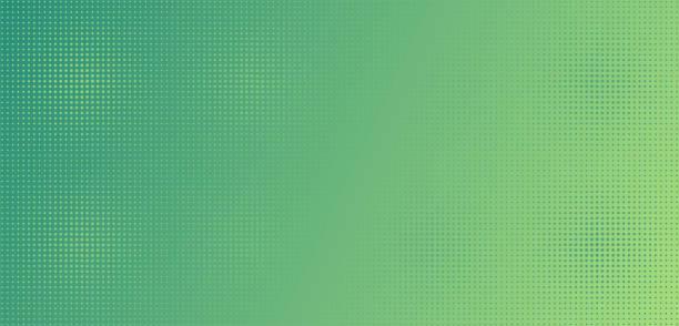 illustrazioni stock, clip art, cartoni animati e icone di tendenza di punti verde chiaro sulla sfumatura verde. - sfondi