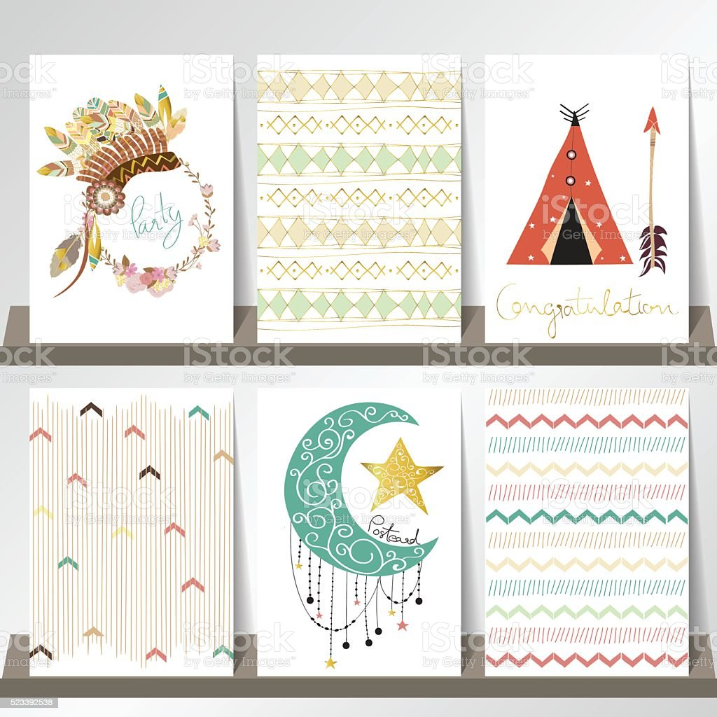 Light Green  Gm Card For Craft