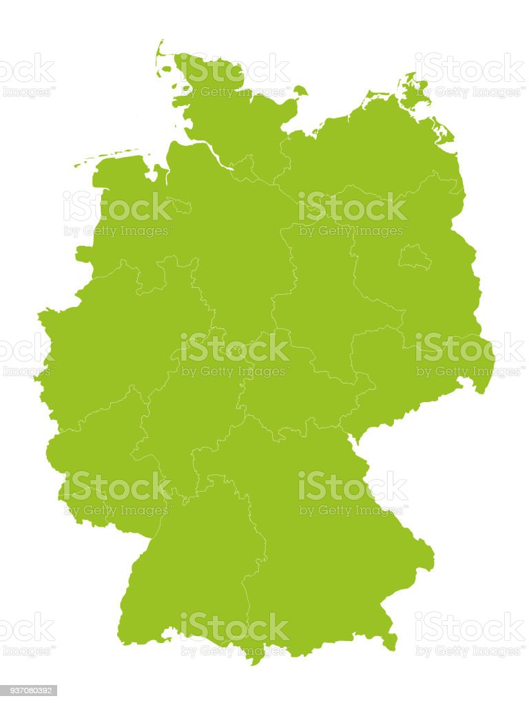 Light Green Map Of Germany With Provinces Stock Illustration ... on germany industry map, germany political map, germany cities map, germany travel map, germany landmark map, germany water map, east germany map, germany major city map, germany surname map, germany country map, germany latitude map, germany power map, germany world map, germany located on map, germany road map, germany capital map, germany culture map, germany map with states, germany region map, germany postal map,