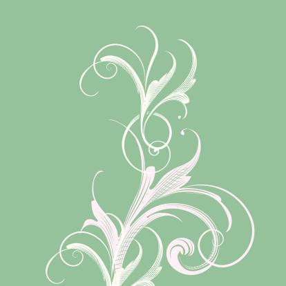 Light Green Scroll Background