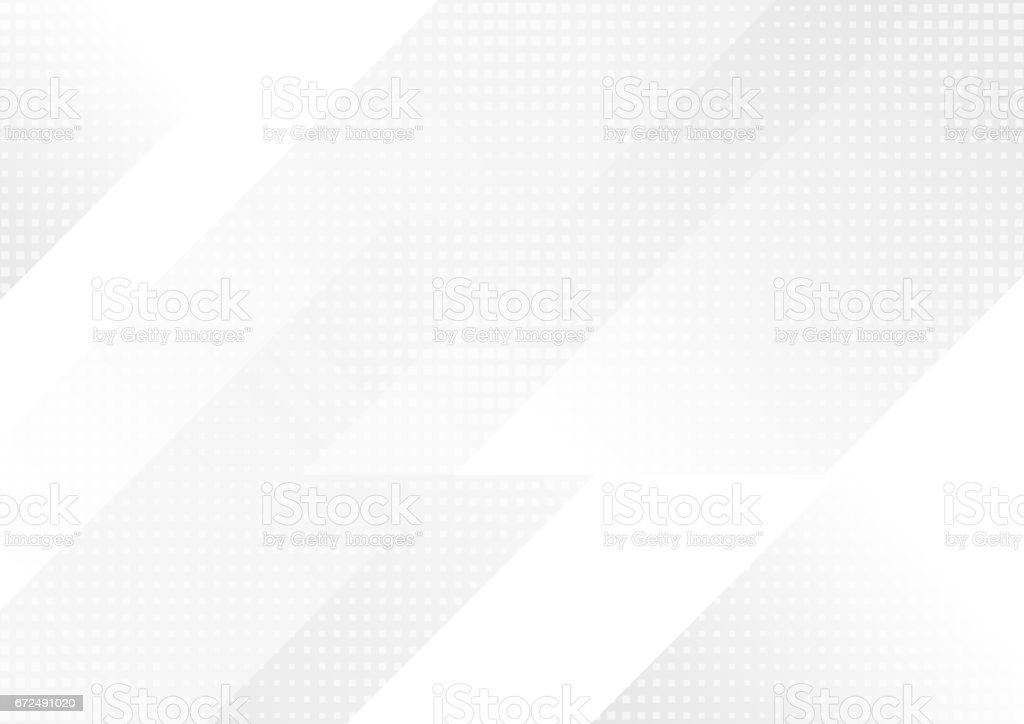 Light grey abstract technology background - arte vettoriale royalty-free di Accendere (col fuoco)