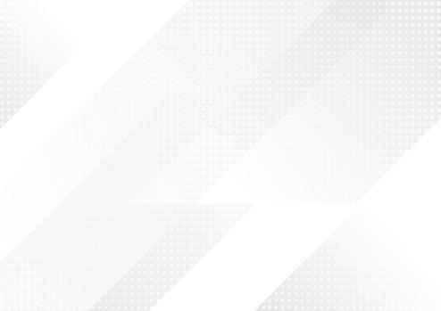 Light Grey Abstract Technology Background - Immagini vettoriali stock e altre immagini di Accendere (col fuoco)
