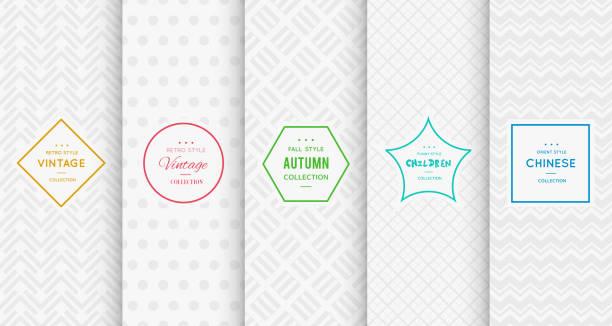 light grey seamless patterns for universal background - ファッション/ビューティ点のイラスト素材/クリップアート素材/マンガ素材/アイコン素材