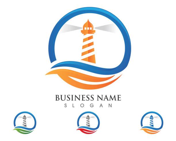 Light House icon vector illustration Light House Logo Template icon vector illustration lighthouse stock illustrations