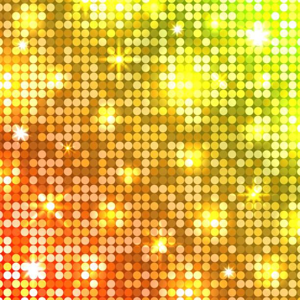 illustrations, cliparts, dessins animés et icônes de mosaïque de lumière. fond de disco. vector - rave party