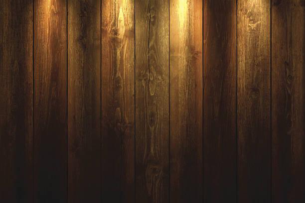 ライトオン木製の背景に - ウッドテクスチャ点のイラスト素材/クリップアート素材/マンガ素材/アイコン素材