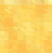 Light Orange polygonal illustration, which consist of triangles. Triangular pattern for your business design. Geometric background in Origami style with gradient.