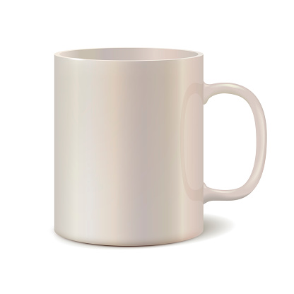 light pearl ceramic mug for printing corporate logo cup isolated on white background vector 3d illustration stock illustration download image now istock https www istockphoto com vector light pearl ceramic mug for printing corporate logo cup isolated on white gm1159009031 316779567