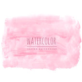 light pink soft watercolor texture stain background