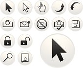 light pointer icons