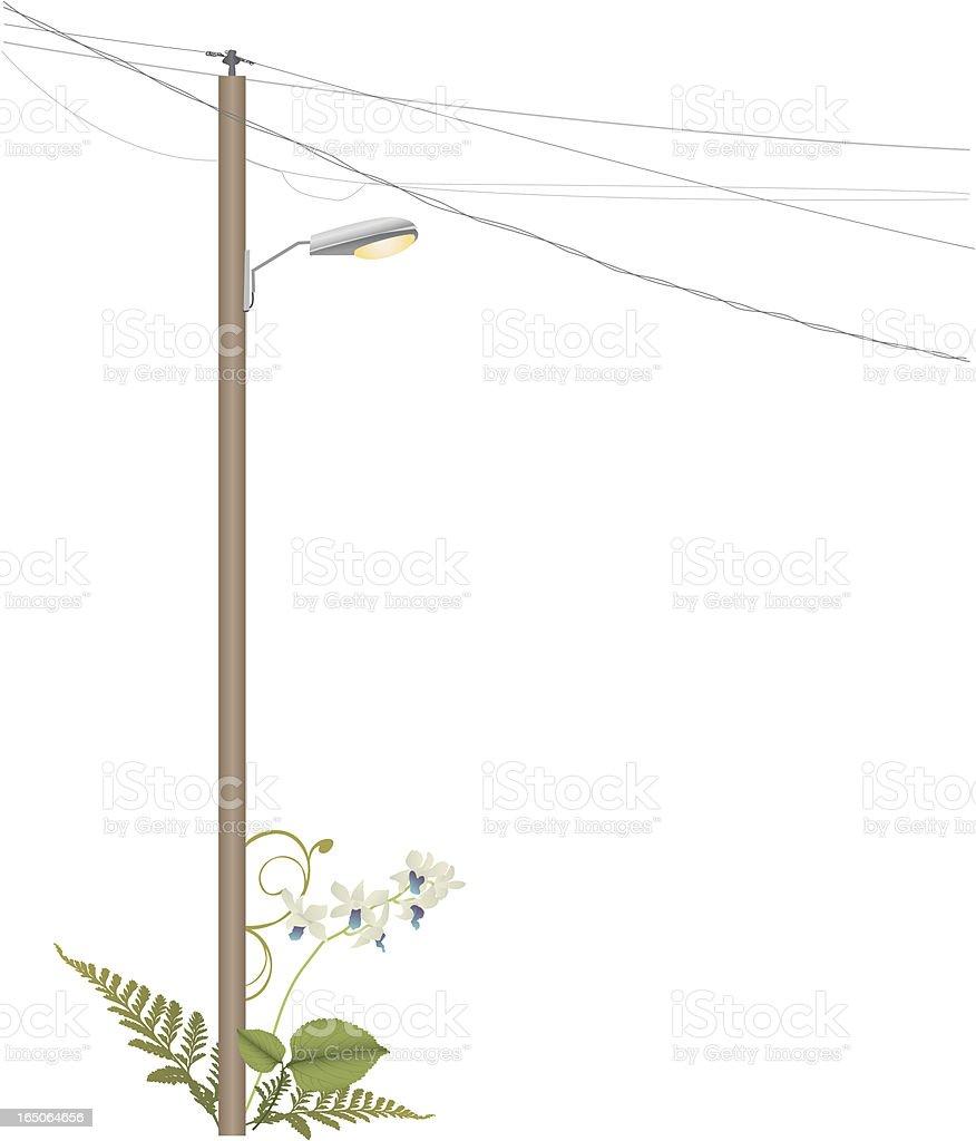 Ilustración de Poste De Luz y más banco de imágenes de Equipo de ...