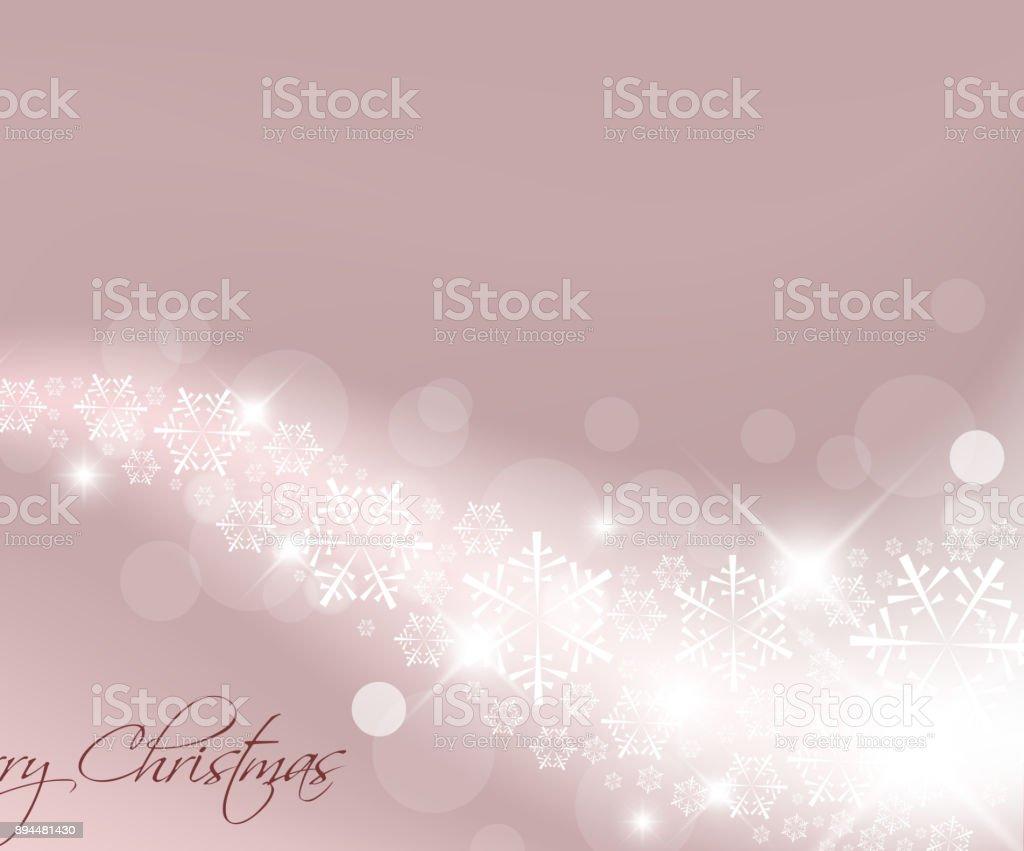 Light purple abstract Christmas background vector art illustration