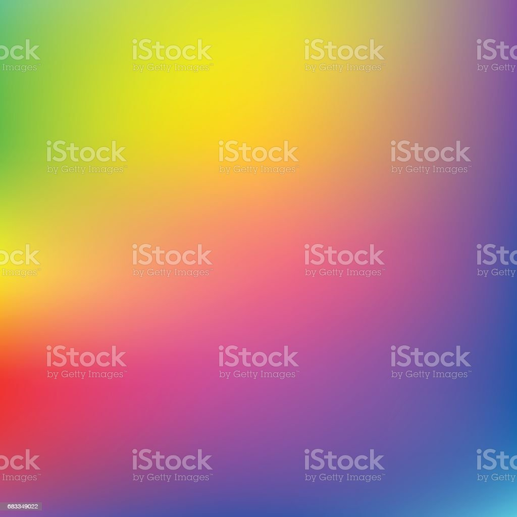 Light rainbow mesh vector background vector art illustration