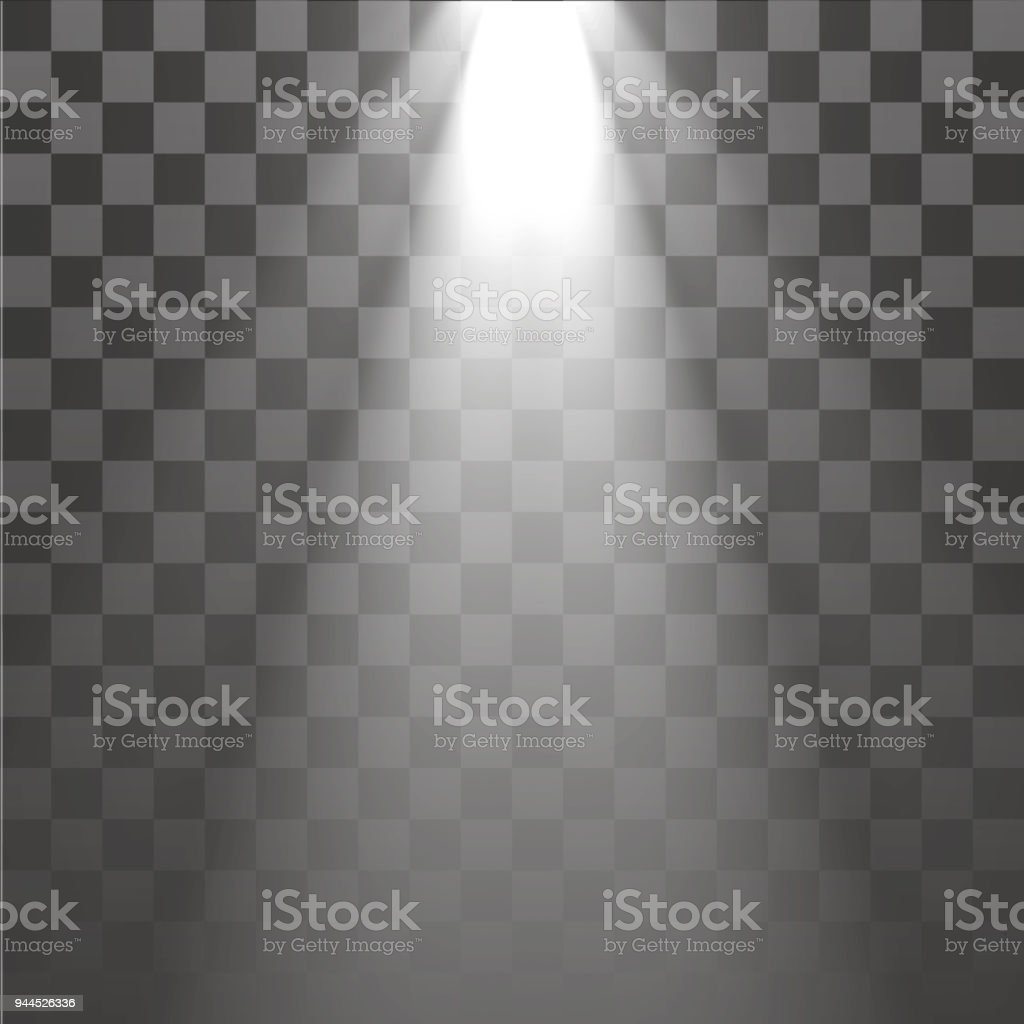 light rays heavy weight top to bottom transparent vector eps 10