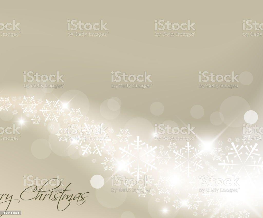 Light silver abstract Christmas background vector art illustration
