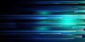 istock Light Speed Motion Technology Background 1194767007