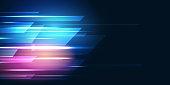 istock Light Speed Motion Technology Background 1257664839
