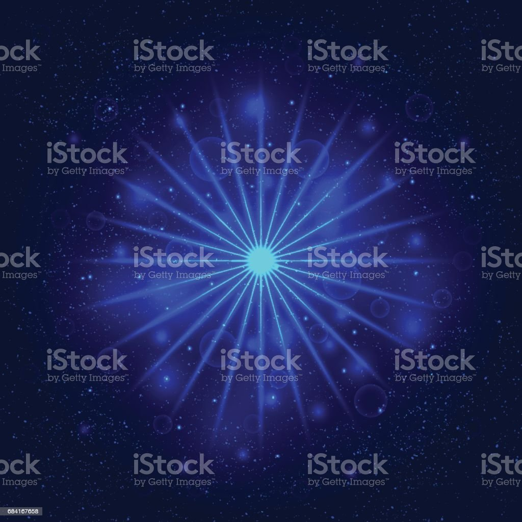 Light Star, Space Illustration, Swirl trail effect, Vector. royalty-free light star space illustration swirl trail effect vector stock vector art & more images of abstract