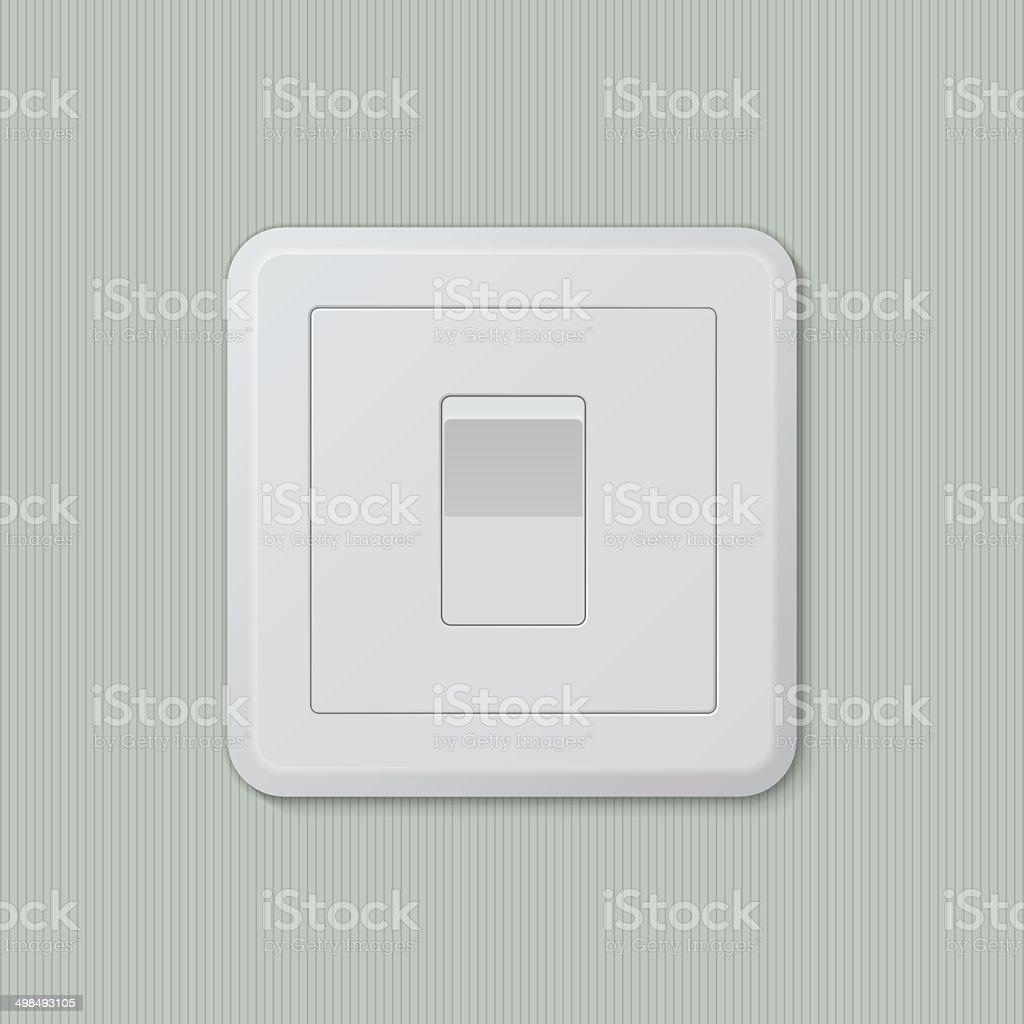 Light switch 01 vector art illustration
