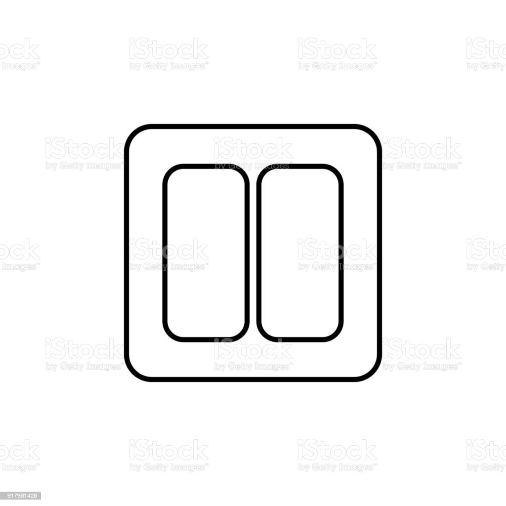 Light Switch Icon Element Of Home Appliances For Mobile Concept And ...