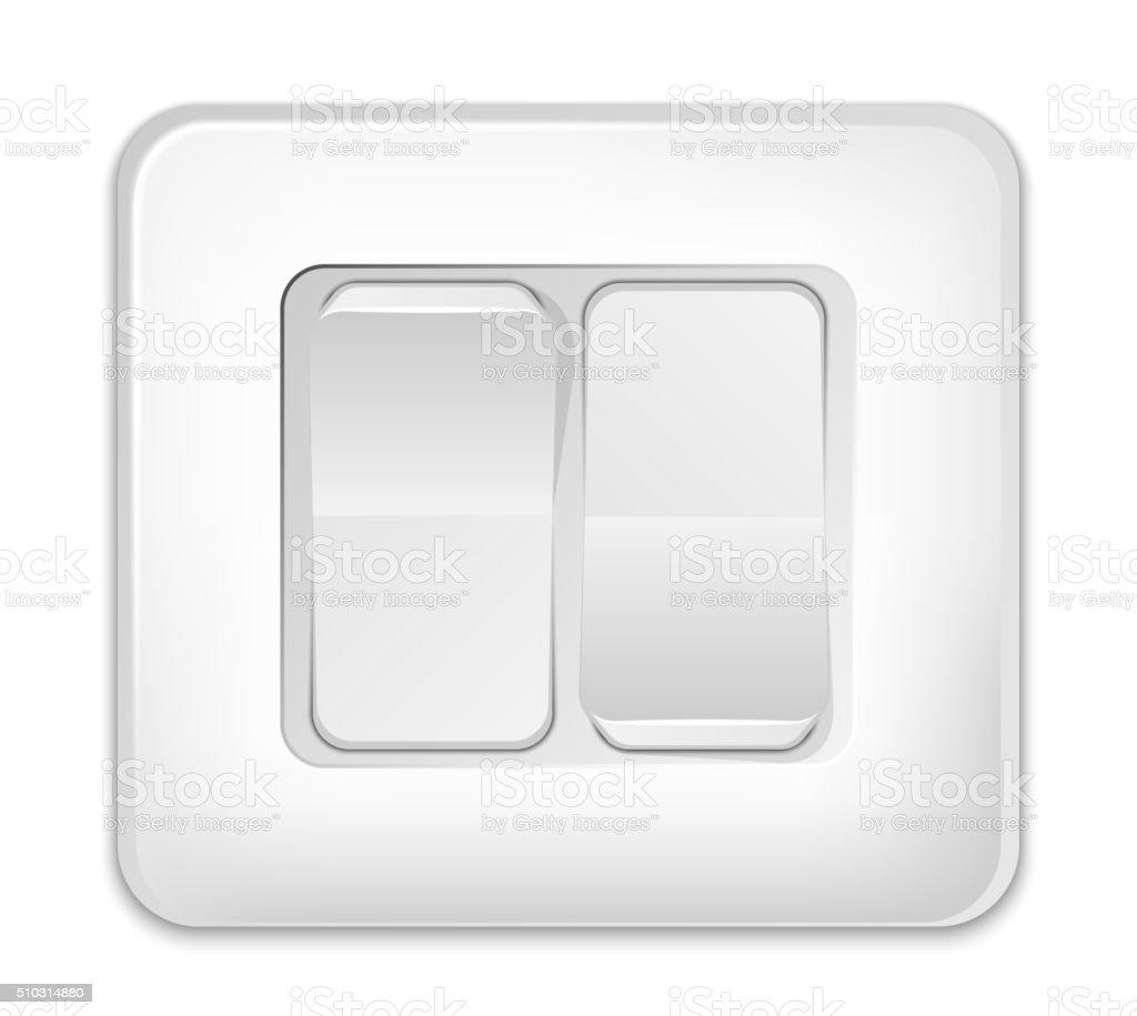 Lichtschaltersymbol Vektor Illustration 510314880 | iStock