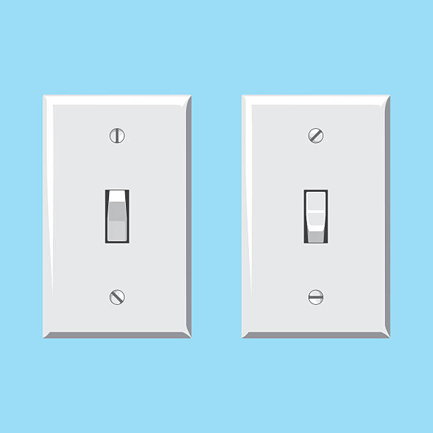 Royalty Free Light Switch Clip Art, Vector Images ...
