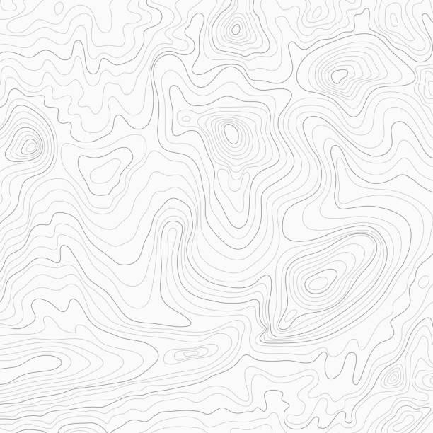 Light topographic topo contour map background Light topographic topo contour map background, stock vector illustration striped stock illustrations