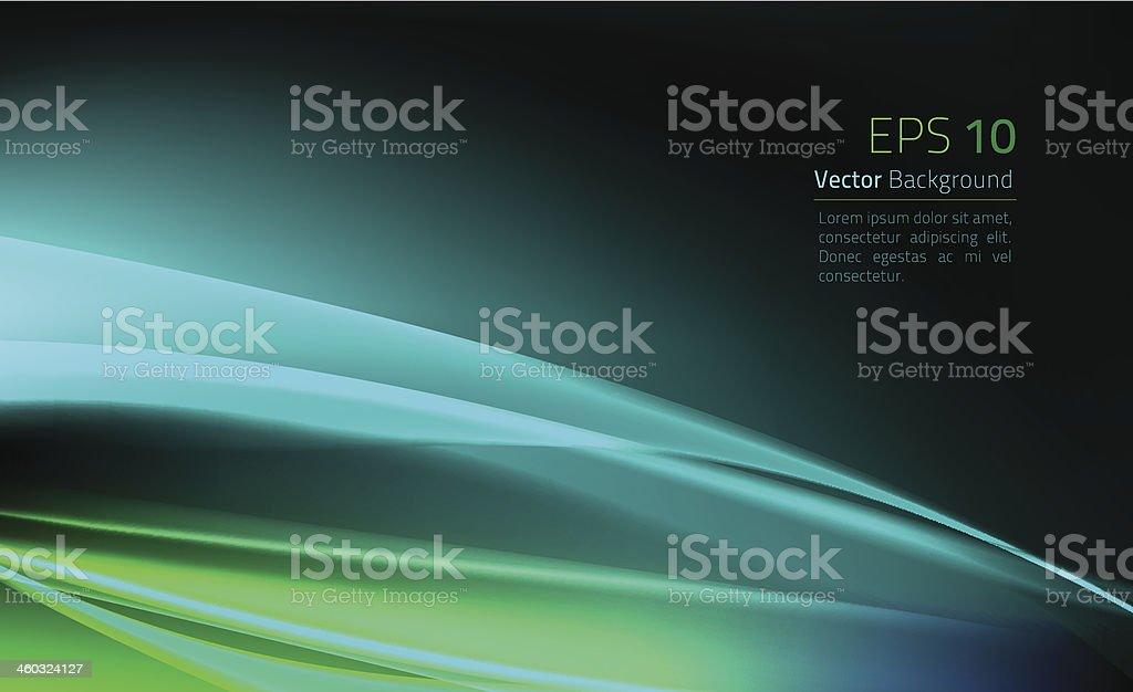 Light Wave Effect Background