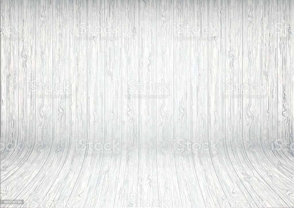 밝은 흰색 나무 판자 배경 곡선 일러스트 652232790  iStock