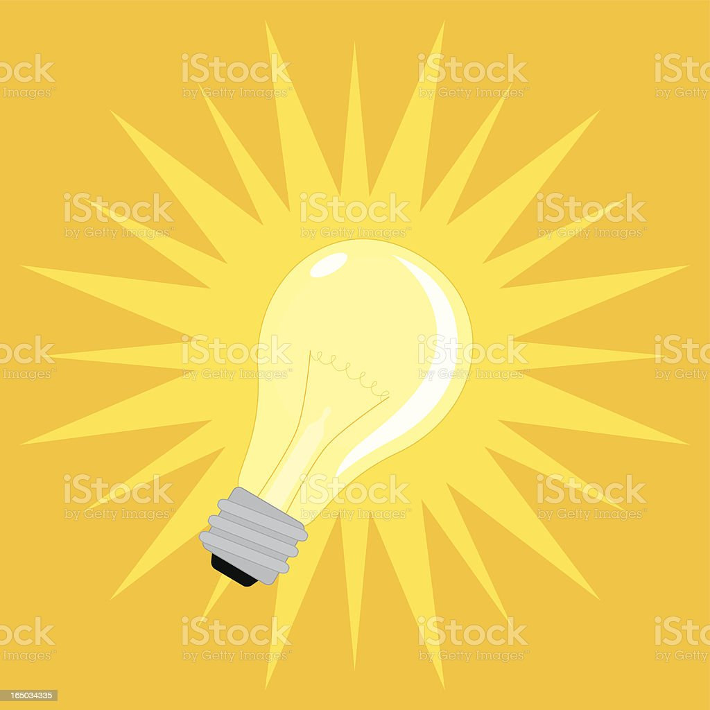 Lightbulb - incl. jpeg royalty-free lightbulb incl jpeg stock vector art & more images of concepts
