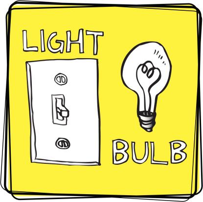 Light/Bulb (Vector Illustration)