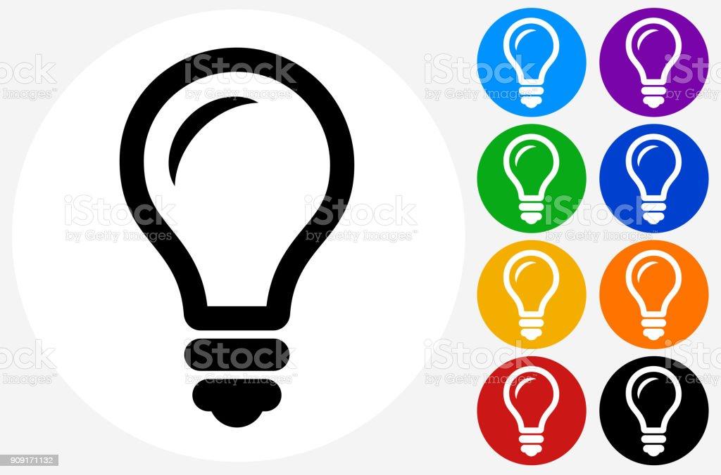 Lightbulb. vector art illustration