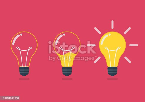 istock Lightbulb with liquid inside 813041220
