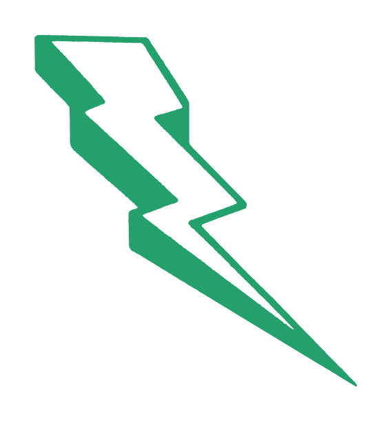 번개 볼트 - lightning stock illustrations