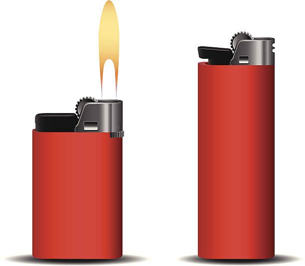 leichter set - feuerzeuggas stock-grafiken, -clipart, -cartoons und -symbole