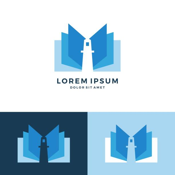 lighthouse book vector icon download lighthouse book vector icon download lighthouse stock illustrations